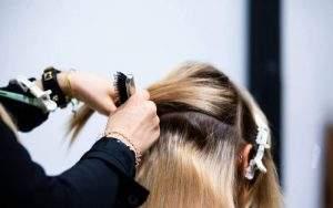weave haar zetten
